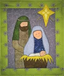 Nativity quilt   Sewing ideas patch work   Pinterest   Nativity ... & Nativity quilt   Sewing ideas patch work   Pinterest   Nativity and Quilt Adamdwight.com