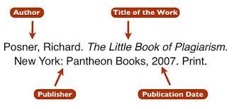 Mla Format Cite A Book 3 Citation Basics Citations 101 Libguides At Oregon
