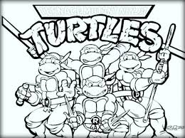 Small Picture Free Mutant Ninja Turtles Coloring sheet Color Zini