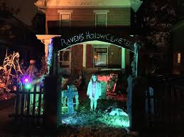 diy halloween lighting. Also From \u0027Instructables\u0027, These Cemetery Entry Pillars Are Made Foam\u2026 But He Has A Great Tip On How To Keep The Wind Taking Away! Diy Halloween Lighting E