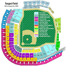 Target Field Seating Chart Prices 13 Eye Catching Twins Seating View