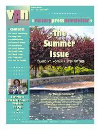 Victory Press Newsletter Digital Edition by Amacie Designs - issuu