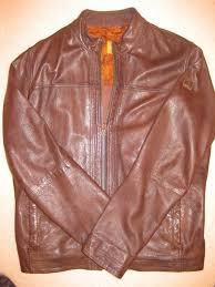 designer leather jacket hugo boss mens size large