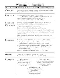 Resume Objective Writing Examples Of Good Resumes Samples Of Good