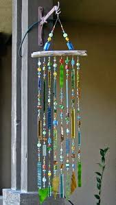 stained glass wind chimes patterns homemade wind chime ideas to make  stained glass wind chime stained