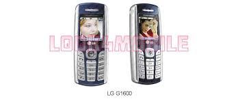 LG G1600 - complete data sheet, reviews ...