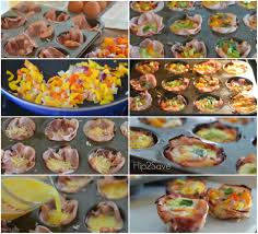 Baked Ham \u0026 Egg Cups (Low Carb Breakfast On The Go Meal) \u2013 Hip2Save