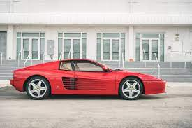 Ferrari 512tr Red For Sale Curated Vintage Classic Supercars