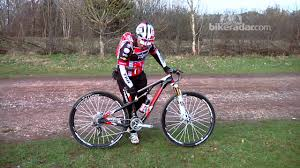 Tracy Moseley S Trek Superfly 100 29er Xc Bike Youtube