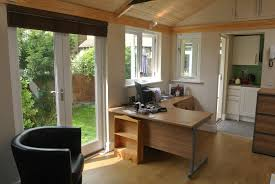 home office in the garden. Office With Kitchen Home Office In The Garden