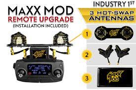 maxx mod dji mavic pro & platinum range extender 3 antenna kit inst Basic Electrical Schematic Diagrams at X3 Ucav Wiring Diagram