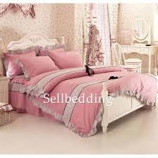 pink polka dots princess high end beautiful teen bedding sets