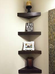 corner shelf design