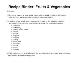 Standardized Recipe Template Word For Mac Restaurant Book Templates