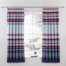 1 pair ashton pencil pleat curtains polycotton 144 thread count