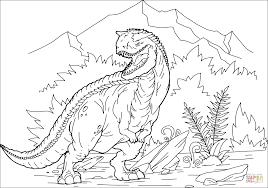 カルノタウルス ぬりえ