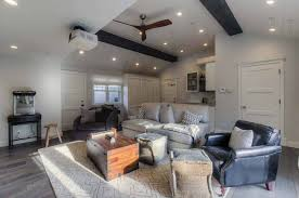 If you find inspiration in our garage conversion ideas and want to convert your garage, you can find local professionals to help on bidvine. Garage Conversion To Cool Entertainment Space In Santa Monica
