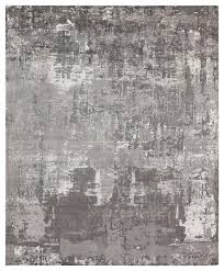 koda modern classic abstract monochrome earth bamboo silk rug 8 x10 contemporary area rugs by kathy kuo home
