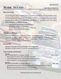 Auto Mechanic Resume Samples Auto Mechanic Resume Templates