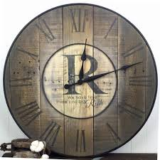 oversized wall clocks for your rooms sofasitters com the of home ideas