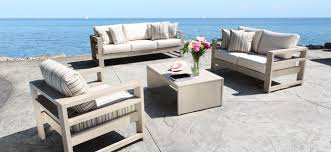 modern outdoor furniture cheap. aura cast aluminum patio furniture conversation set with a modern luxury design in toronto outdoor cheap