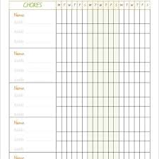 Family Calendar Chore Chart 10 Family Chore Chart Templates Pdf Doc Excel Free