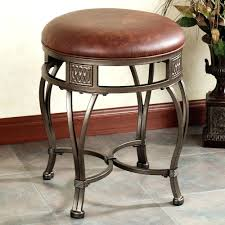 Table Height Stools Kitchen Bar Stools With Nailhead Trim Awesome Bahtroom Dark Vanity Stool