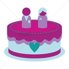 Wedding Cake Vector Image 1324688 Stockunlimited