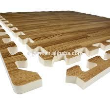 dark wood foam mats puzzle interlocking eva tiles flooring