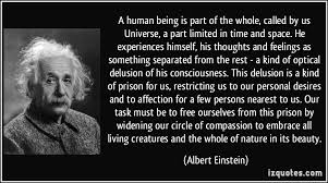 a human being is part of the whole called by us universe a part  a human being is part of the whole called by us universe a part more albert einstein quotes