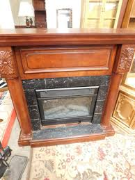 febo flame electric fireplace work junk commanders mid century antiques vintage and more auction texas clix