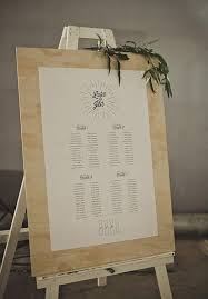 20 Stylish Seating Charts To Greet Your Reception Guests