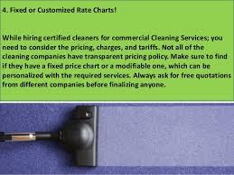Commercial Cleaning Price Chart Commercial Cleaning Services 4 Smart Tips