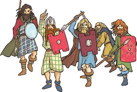 Anglo-Saxon and Scots Invaders