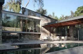 Modern Stone & Glass House