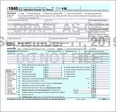 Taxpayers to file an annual income tax return. Everything Old Is New Again As Irs Releases Draft Form 1040 For 2019 S J Gorowitz Accounting Tax Services P C