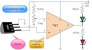 temperature sensor electronic kits and simple electronics Temperature Switch Wiring Diagram automatic fan controller circuit diagram temperature switch wiring diagram