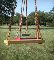 Tree Swings Tree Swing Set Of 2 Woodwork Swings And Yards