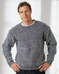 Mens Sweater Knitting Pattern Magnificent A Knit Men's Sweater FaveCrafts