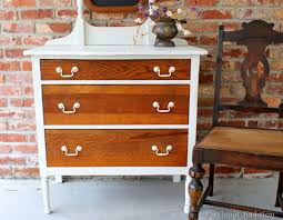 painting wood furniture whiteHow To Use Off White Paint To Update Oak Furniture