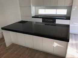 Kitchen Granite Benchtops Absolute Black Granite Kitchen Benchtop Granite Marella