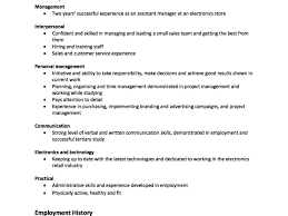 Makingr Letter Skills Focused Cv Personal Online Stand Out How To