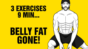 9min Tri-Bata Belly Fat Burning Workout - Get 6 Pack Abs Fast ...