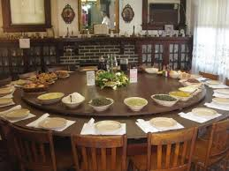 round dining table for 8. large round dining table seats 10 - foter for 8 m