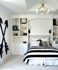 teenage bedroom designs black and white. Pottery Barn Teen Girl Bedroom With Wooden Wall Arrows By Two Thirty~Five Designs Teenage Black And White Pinterest