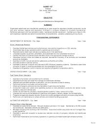 Sample Resume For Warehouse Worker 1000 Objective For Warehouse Resume 100 Makeup Artist Supervisor 19