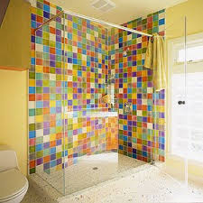 Colorful Bathroom Design  Home InterioresColorful Bathroom