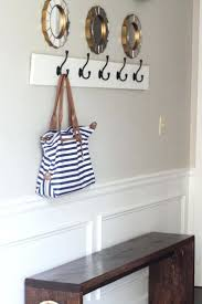 wall mounted hat rack coat hooks best ideas on hanger and organizing small  closets . wall mounted hat rack ...