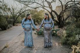 Updated: These Twins Both Had Miscarriages, Were Pregnant at the Same Time,  and Just had Babies on the Same Day | SELF