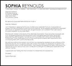 Johnson And Johnson Cover Letter Behaviour Therapist Cover Letter Sample Cover Letter Templates